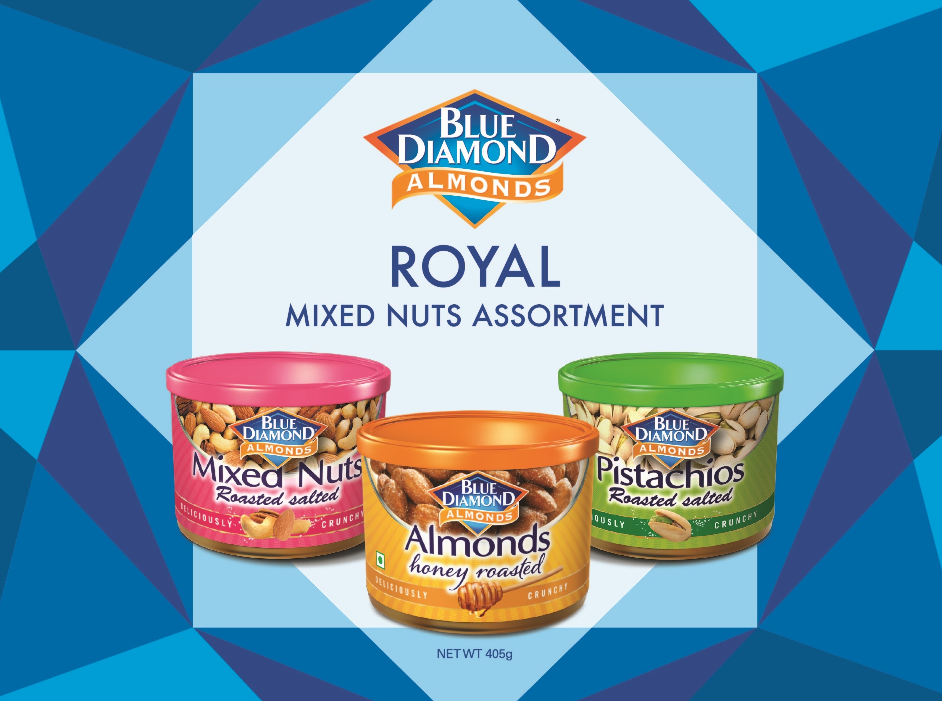 Blue Diamond Gourmet Almonds 2020