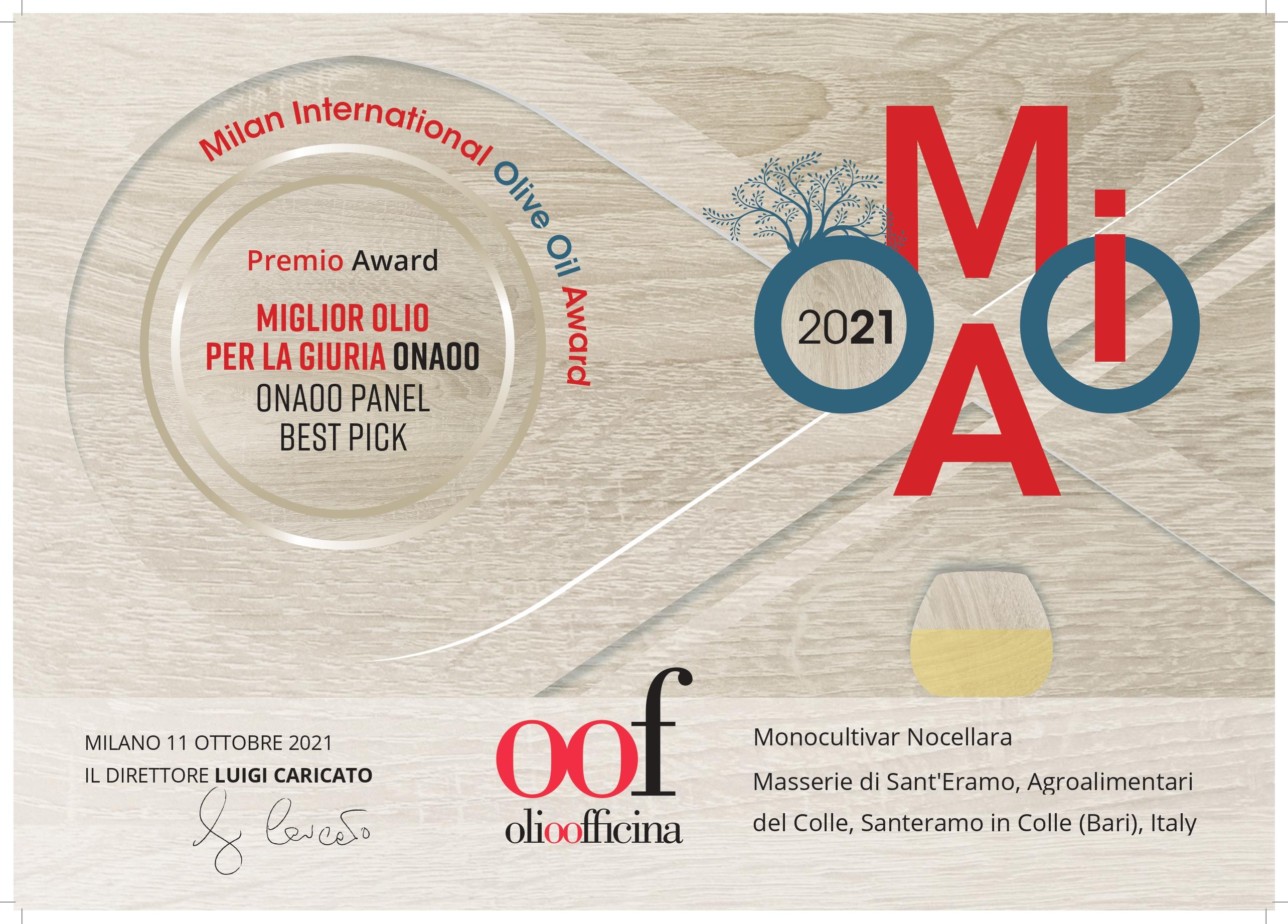 Masserie Di Sant'Eramo-Honored with 15 prestige awards across Europe, America and Dubai in 2020-2021